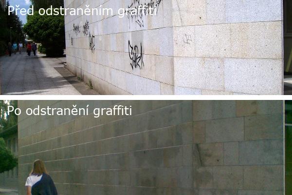 Jednoduchý systém – budovy bez graffiti