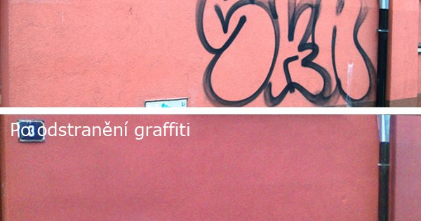 Odstraňování graffiti v Brně Bohunicích