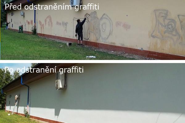 Odstranění a čištění graffiti, antisprejerový program proti grafitům