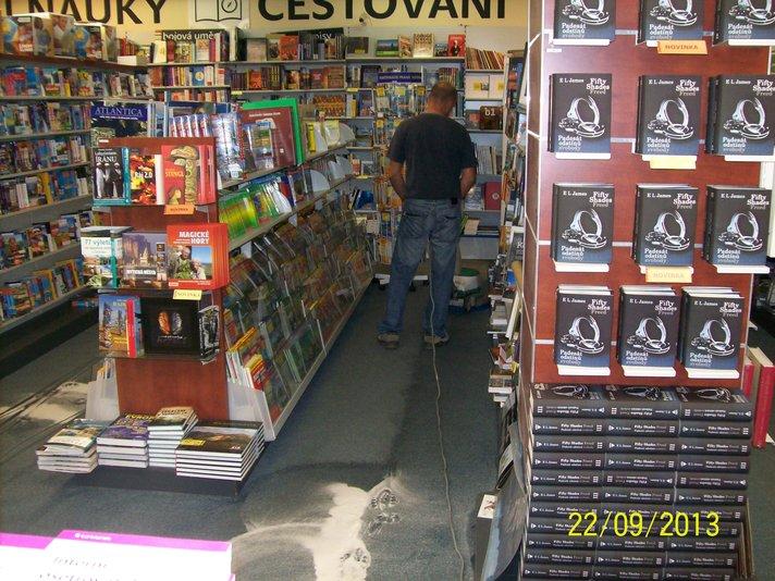 Čištění koberců do hloubky, Praha 9