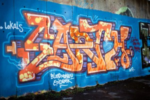 graffiti vandalové