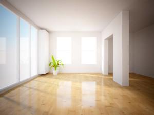 lesklá podlaha